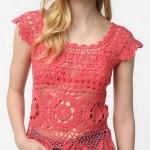 Crochet Top - Beautiful Lace