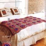 Reginella Flwoer Crochet Throw Pattern