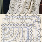 Semi Circle Crochet Blanket