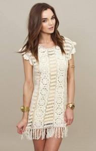 short summer crochet dress pattern free