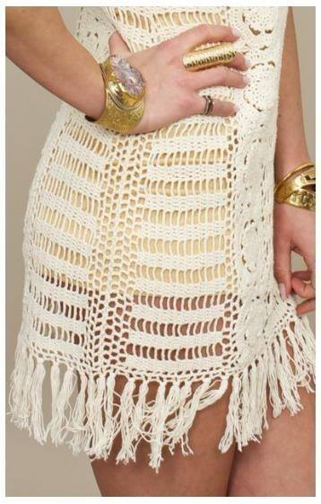 Short Summer Crochet Dress Free Pattern ⋆ Crochet Kingdom