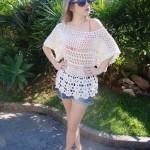 Pretty Lace Crochet Sweater Pattern