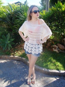 lace crochet sweater pattern 1