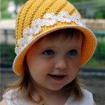 Yellow Hat Cap for Girls
