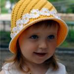 Yellow Hat Cap for Girls