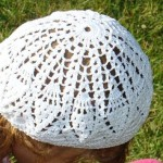 Crochet Pattern for a Girls Pineapple Stich Beret