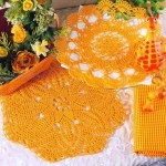 Free Crochet Pattern fro Two Doilies