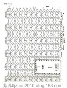 Openwork Fishnet Lace Strips Free Crochet Vest Pattern 3
