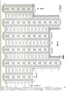 Openwork Fishnet Lace Strips Free Crochet Vest Pattern 4