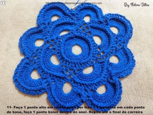 Step b Step Round Doily Pattern - Crochet 11