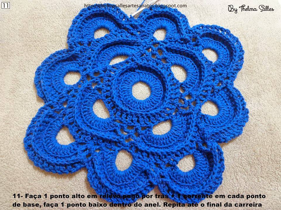 Step by Step Round Doily Pattern - Crochet ? Crochet Kingdom