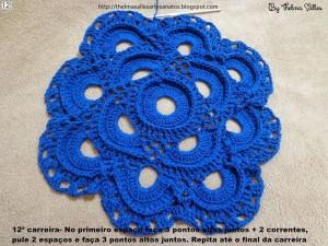 Step b Step Round Doily Pattern - Crochet 12