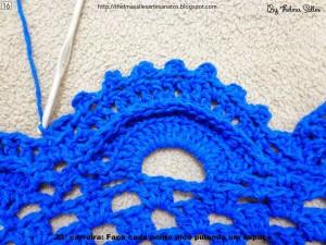 Step b Step Round Doily Pattern - Crochet 16