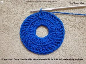 Step b Step Round Doily Pattern - Crochet 2