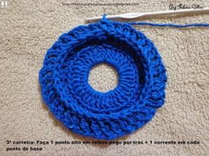 Step b Step Round Doily Pattern - Crochet 3