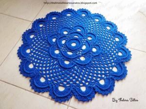 Step b Step Round Doily Pattern - Crochet