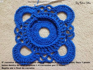 Step b Step Round Doily Pattern - Crochet 5