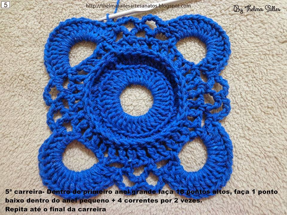 Step By Step Round Doily Pattern Crochet Crochet Kingdom