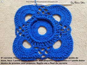 Step b Step Round Doily Pattern - Crochet 6
