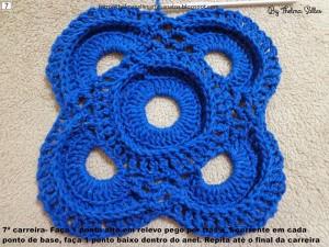 Step b Step Round Doily Pattern - Crochet 7