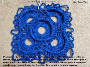 Step b Step Round Doily Pattern - Crochet 8
