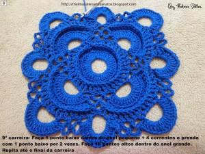 Step b Step Round Doily Pattern - Crochet 9