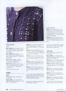 chunky crochet coat pattern 1
