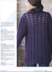 chunky crochet coat pattern 2