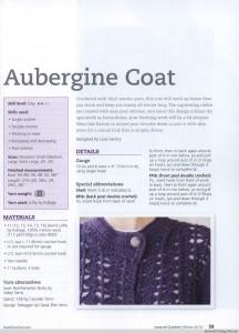 chunky crochet coat pattern
