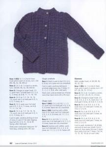 chunky crochet coat pattern 3