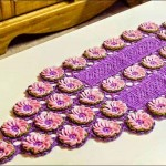 Free Floral Crochet Table Runner Pattern