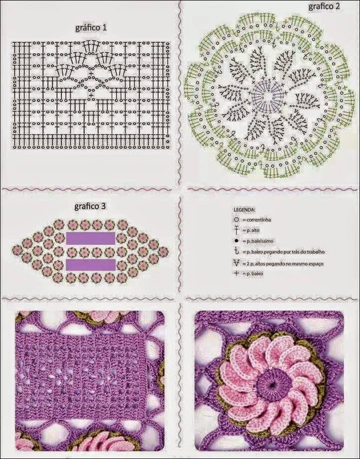Free floral crochet table runner pattern crochet kingdom floral table runner crochet pattern free diagram ccuart Choice Image