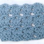 Free Crochet Stitch - Bobble Leaves