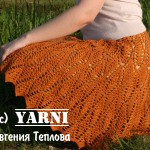 Orange Crochet Skirt Pattern Free