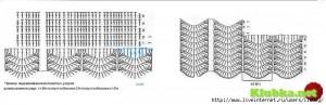zig zag crochet skirt free pattern 7