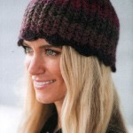 Zig Zag Crochet Hat Pattern