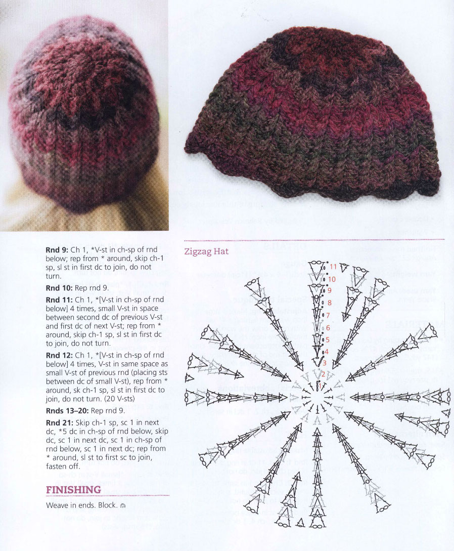 Zigzag Crochet Pattern Interesting Inspiration