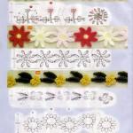 8 Floral Crochet Edgings