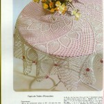 Spiral Pineapple Doily Tablecloth Crochet Pattern