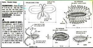 5 Crochet Butterflies 1