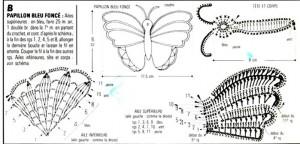 5 Crochet Butterflies 2