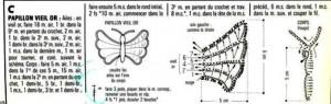5 Crochet Butterflies 3