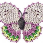 Beautiful Ornate Crochet Butterfly Pattern