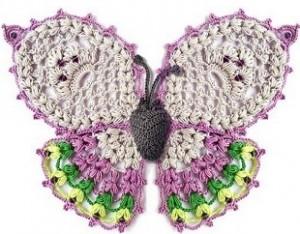Beautiful Ornate Crochet Butterfly Pattern