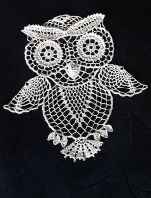 Crochet Owl Motif Crochet Kingdom