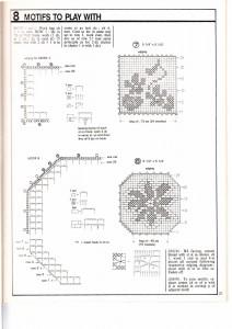 Flower Motif Crochet Napkin Pattern3
