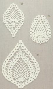 Pineapple Crochet Motifs