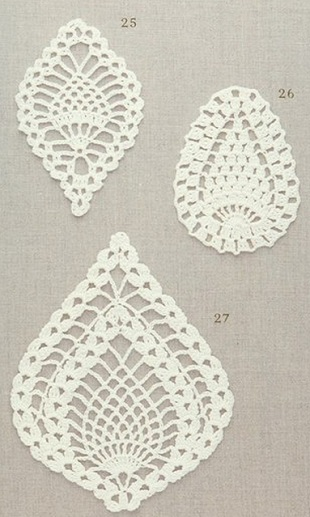 Crochet Patterns Pineapple : Pineapple Crochet Motifs ? Crochet Kingdom