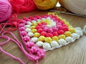 Spiral Bobble Crochet Stitch Tutorial 20