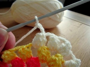 Spiral Bobble Crochet Stitch Tutorial 21